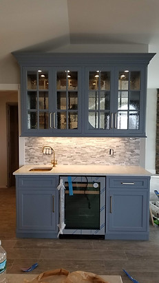 Custom Kitchen Wet Bar