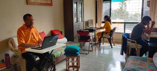 Aman, Suchita Chavan, Jai Krishna workin