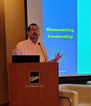 Aman - Humanising Leadership Speech  Bha