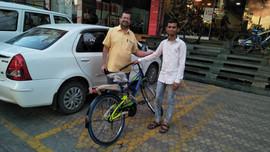 Amir Quadri - Cycle Donation