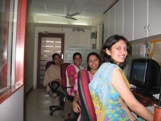 Smiling Team...