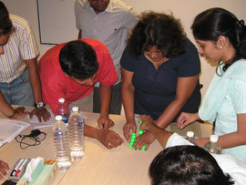 Training workshop in progress