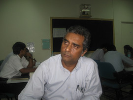 Deven Dhanak conducting training