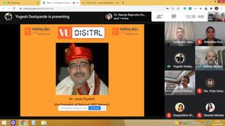 Vishwakarma University Digital Meeting