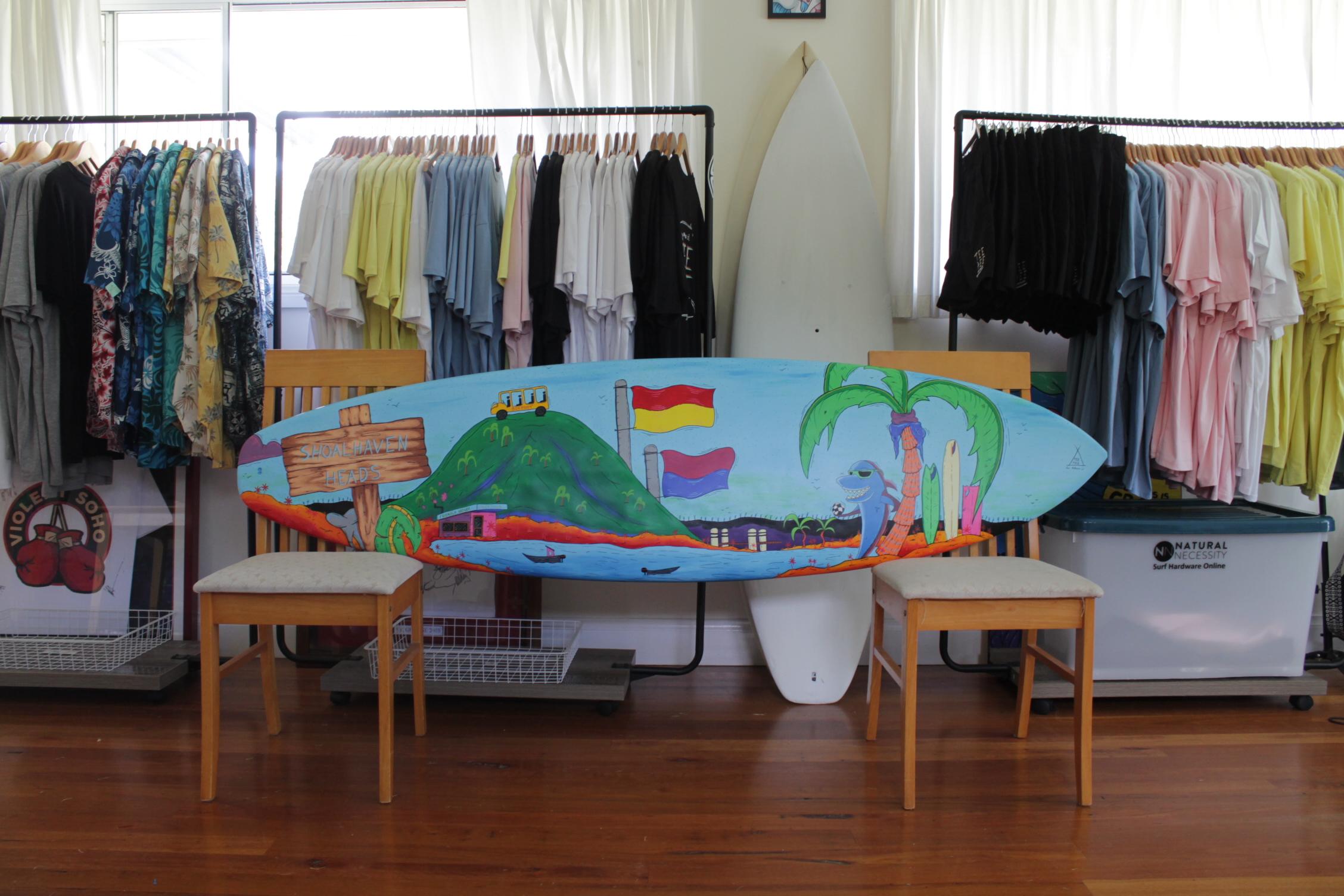 Shoalhaven Heads Surfboard