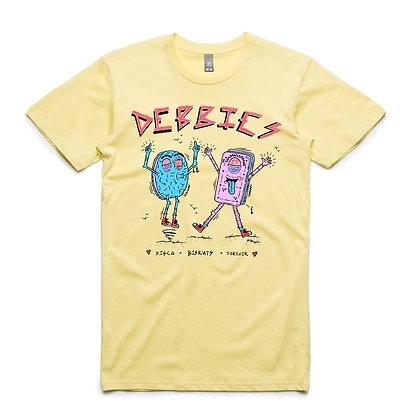 Disco Biskut Tee - Yellow