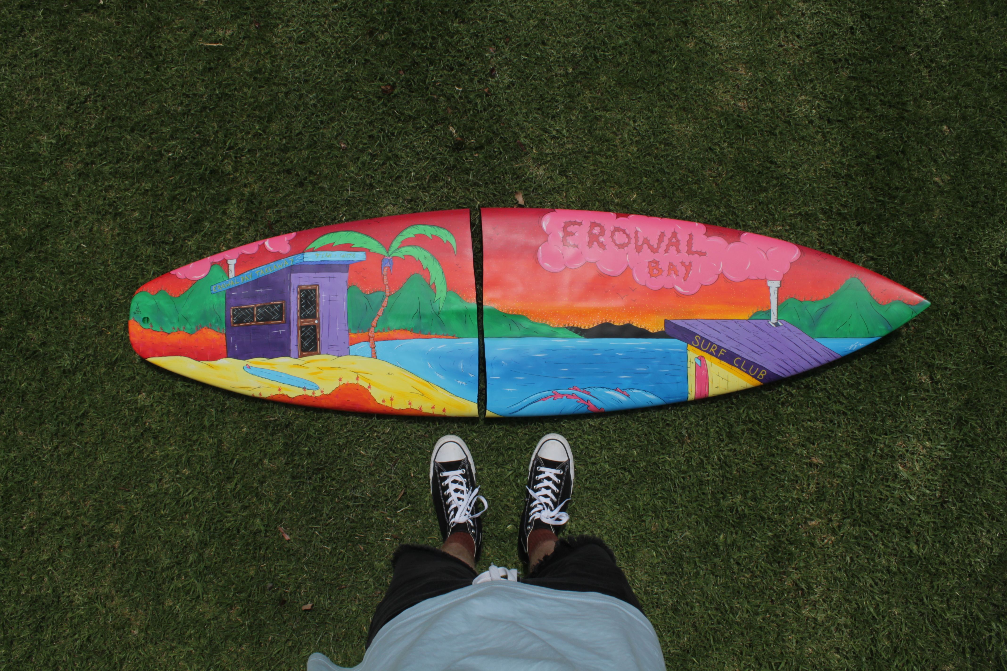 Erowal Bay Surfboard