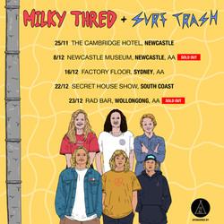 MILKY TRASH - Tour Poster