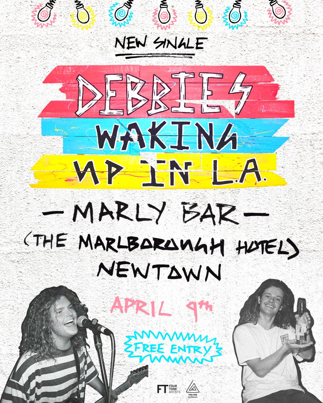 DEBBIES - Single Tour