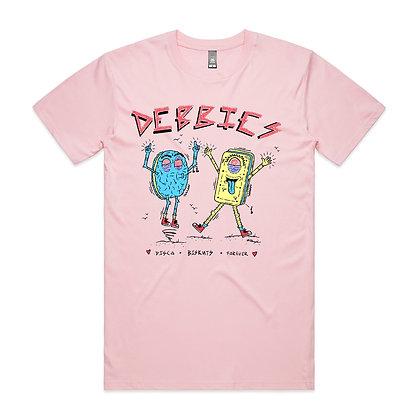 Disco Biskut Tee - Pink