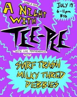 A Night With TEE-PEE