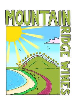 Mountain Ridge Wines Tee
