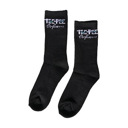 Message Sock - Black