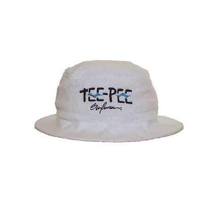 Message Bucket Hat - White