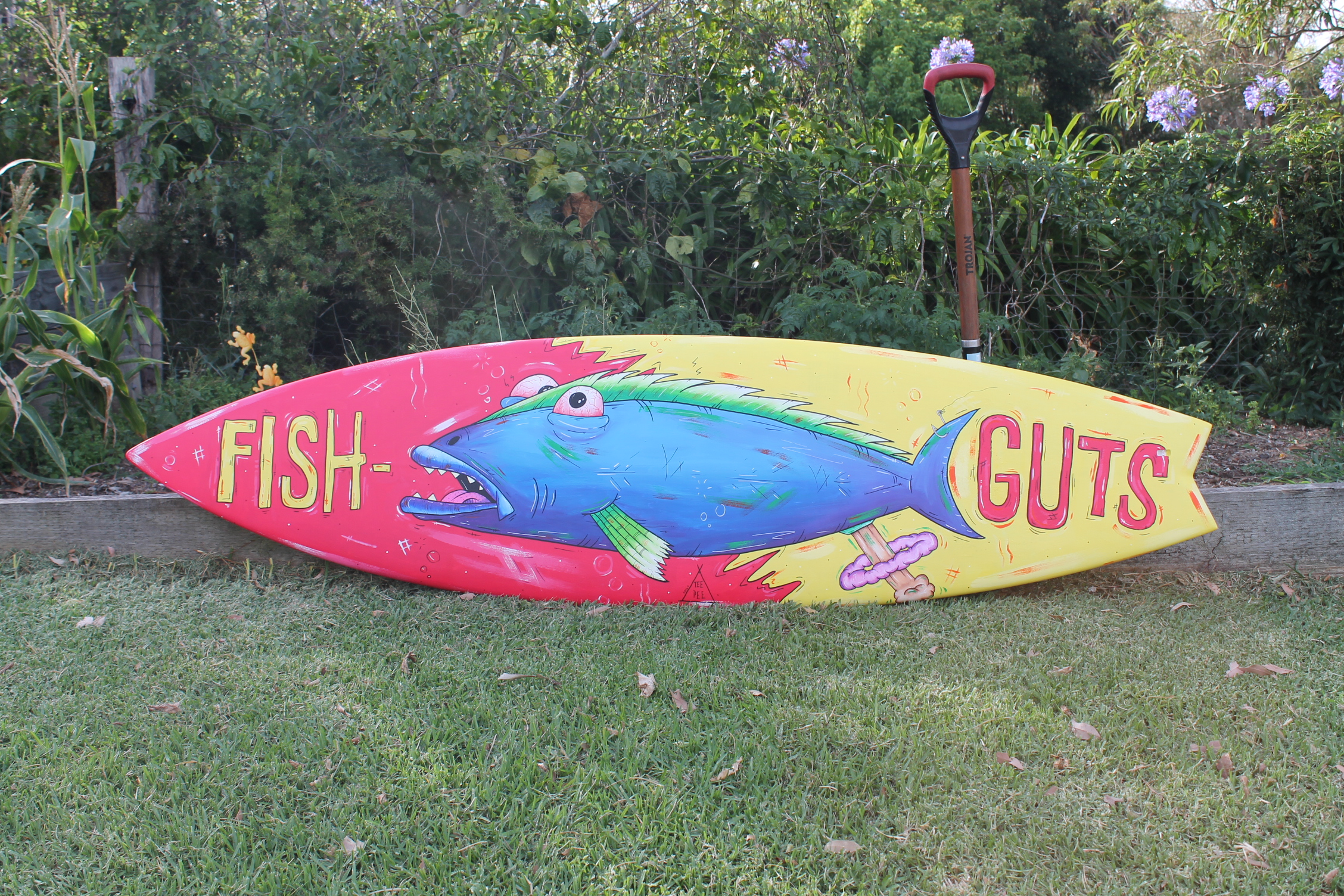 Fish-Guts Surfboard