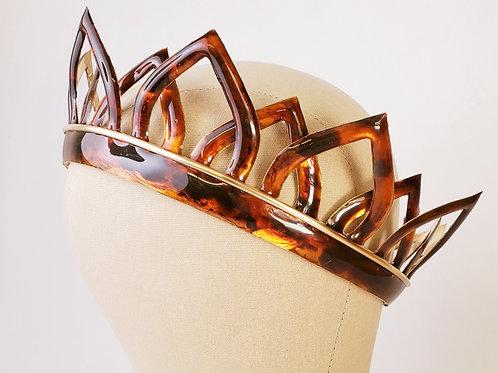 Mia Tortoise Shell Crown
