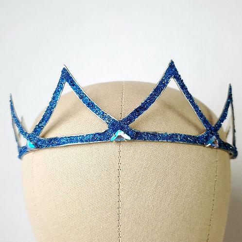 Azure Crystal Crown