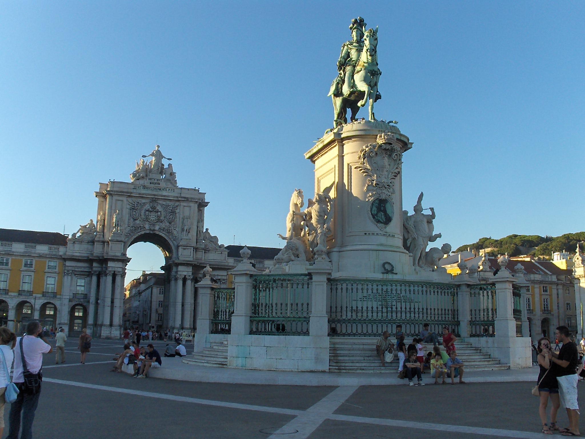Lisbon, Praça do Commerço
