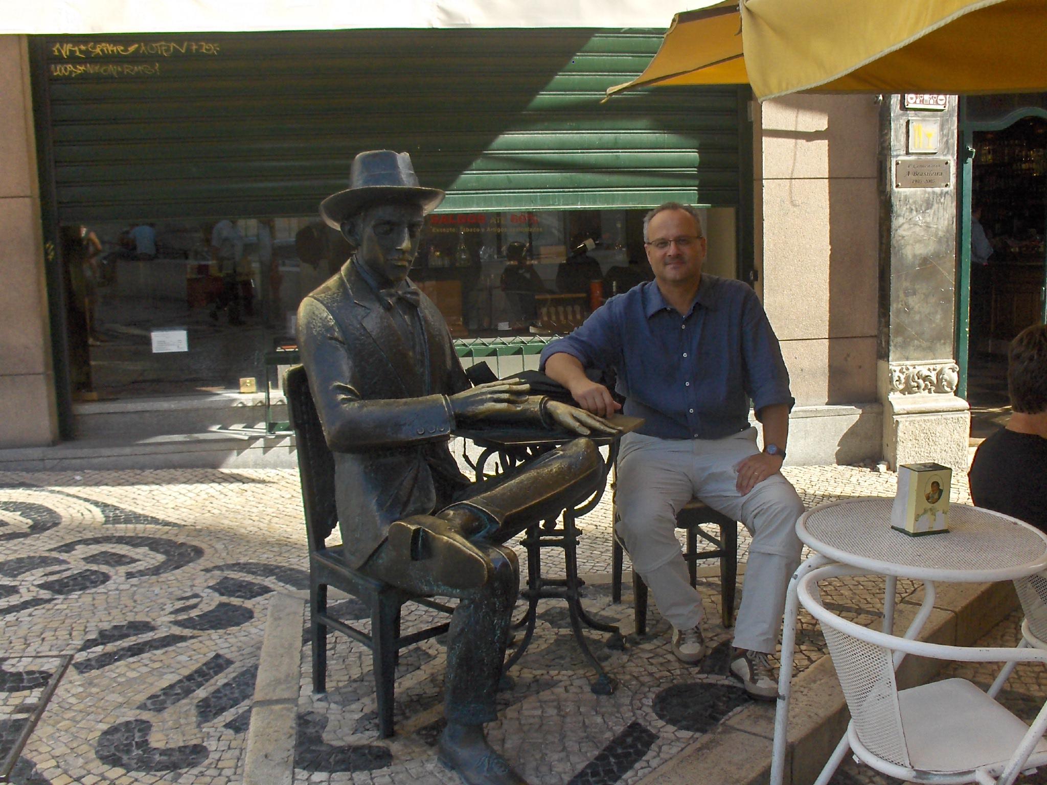 Lisbon, me and Pessoa
