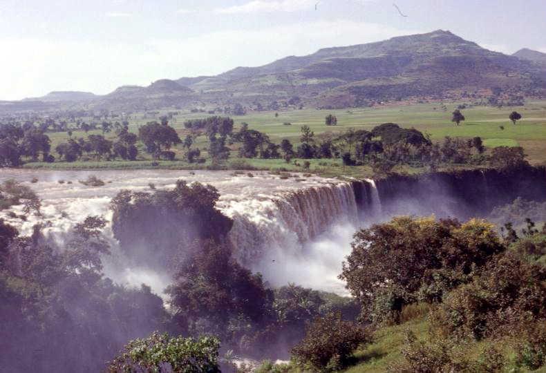 Ethiopia, Blue Nile Tissisat falls