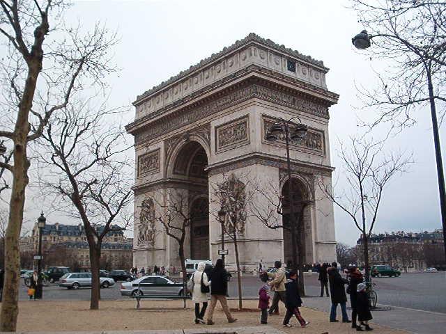 Parigi, Arc du Trionphe