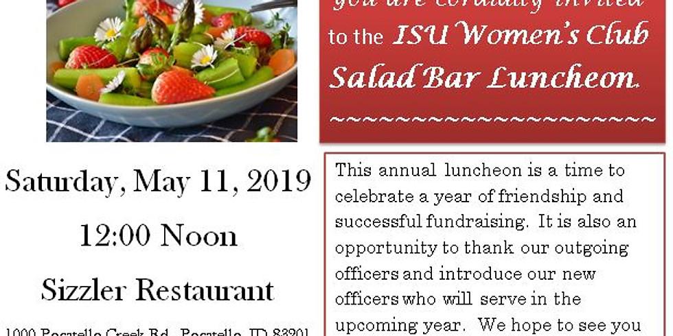 Salad Bar Luncheon - Location The Sizzler Restaraunt 1000 Pocatello Creek Rd.