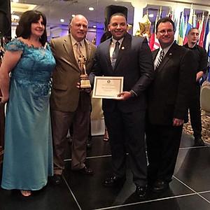 Bayonne Hispanic Association Blue Event