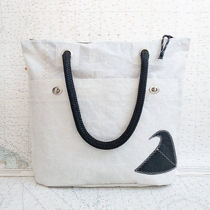 Recycled Sail Wave Tote