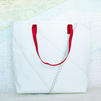 Large Heavy Duty Recycled Sail Drop in Tote