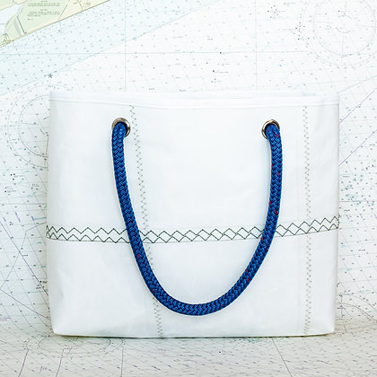 Medium Heavy Duty Recycled Sail Drop in Tote