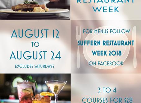 Suffern 2018 Restaurant Week!