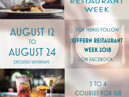 Suffern 2018 Restaurant Week!
