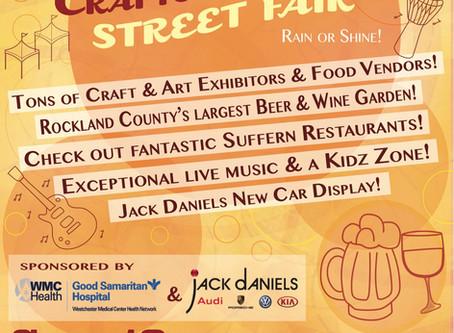 Suffern Chamber Crafts & Drafts Street Fair!