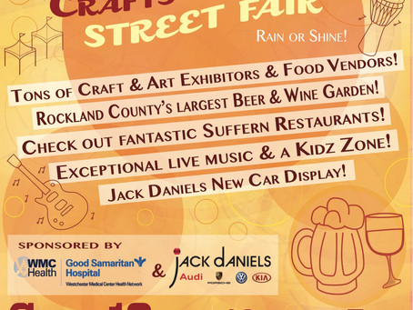 Suffern Chamber Crafts & Drafts Street Fair!