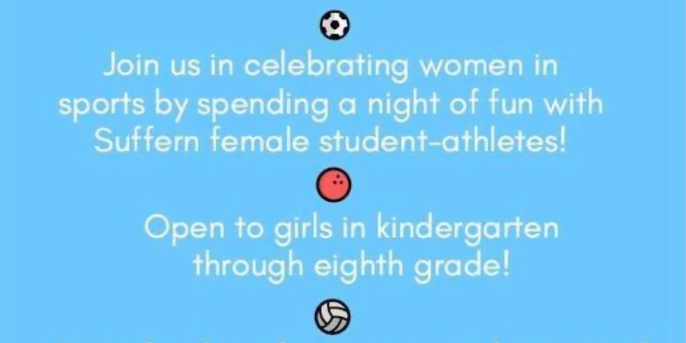 3rd Annual Women in Sports Day!