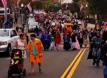 Halloween Parade Happiness!