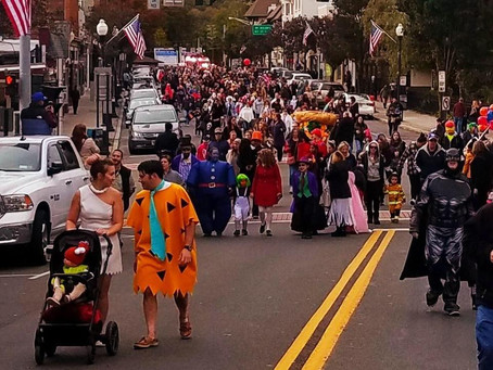 Halloween Parade Happiness!