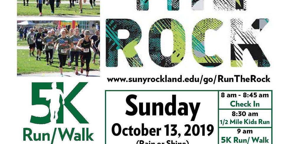 Run the Rock 5K run/walk fundraising event for RCC veterans