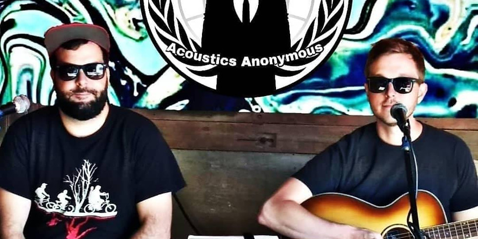 Acoustics Anonymous back on Fink's BBQ Fat Tire Stage