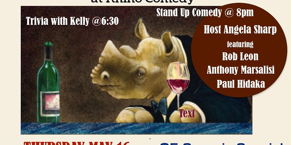 May 16 Happy Hour Stand Up
