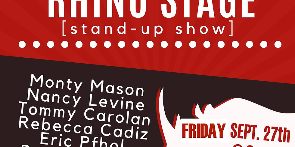 Friends of the Rhino Stage Stand Up