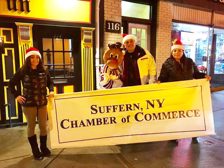 Fantastic Turnout for Suffern Christmas Parade!