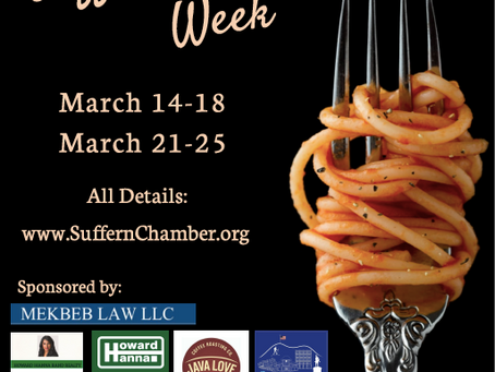 Suffern Restaurant Week 2021