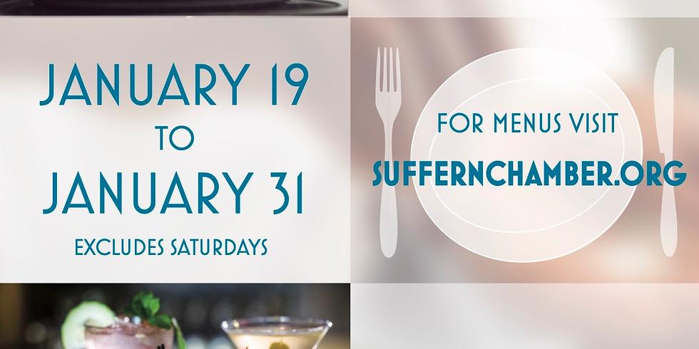 Suffern Chamber January 2020 Restaurant Week!
