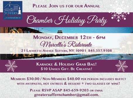 Chamber Annual Holiday Dinner!