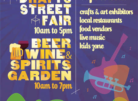 Suffern Crafts & Drafts April Street Fair Festival!