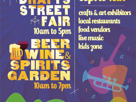 Suffern Crafts & Drafts April Street Fair Festival!