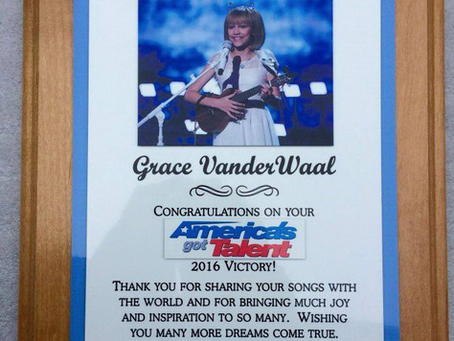 Grace VanderWaal's Celebration!