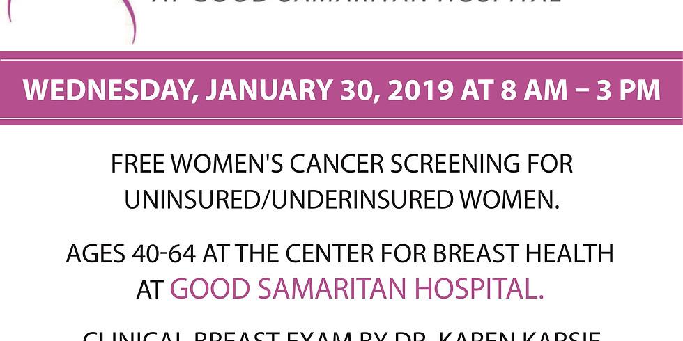 Free Breast Screening - Good Samaritan Hospital