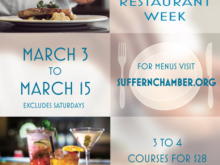 Suffern Chamber 2019 Restaurant Week